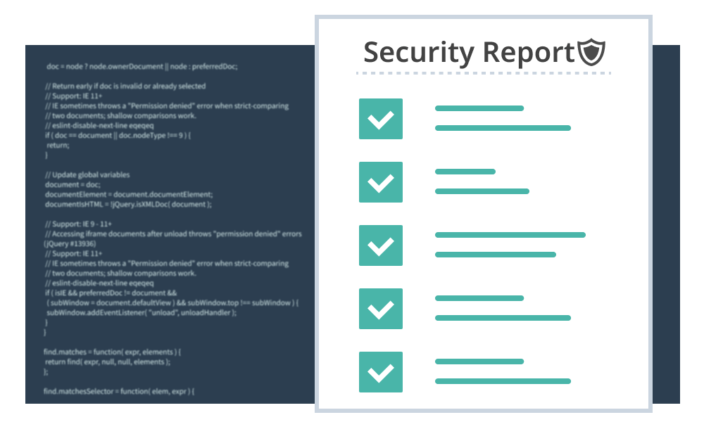 Implementation of vulnerability inspection